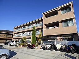 大阪府茨木市五日市2丁目の賃貸マンションの外観