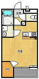 レオネクストAKURA6[103号室]の間取り