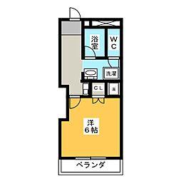 第一ヤマケンビル[5階]の間取り