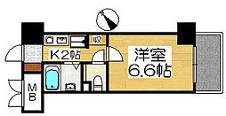 ボン・シェール堺[5階]の間取り