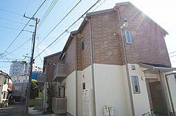 神奈川県横浜市栄区笠間1丁目の賃貸アパートの外観