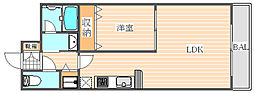 アイントラハト博多駅南[8階]の間取り