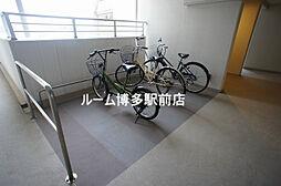 パークアクシス博多美野島のバイク置き場や駐輪場(^^