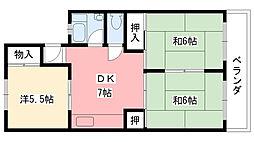 甲林ビル[303号室]の間取り