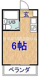コレクション関目弐番館[3階]の間取り
