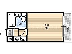 ラ・ビスタ[4階]の間取り