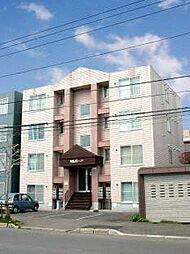 北海道札幌市白石区栄通9丁目の賃貸マンションの外観