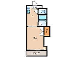 ヨットかわしまII[1階]の間取り