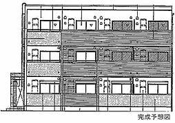 カルフール千防[2階]の外観