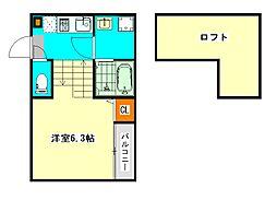 仮称)東区矢田1丁目新築デザイナーズ[1階]の間取り