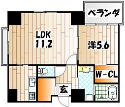 GRaCE COURT SUNATU[8階]の間取り