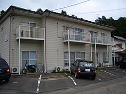栃木県日光市荊沢の賃貸アパートの外観