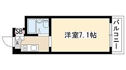 愛知県名古屋市瑞穂区明前町の賃貸マンションの間取り
