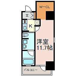 ル・ブルー鶴舞[8階]の間取り