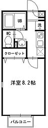 神奈川県川崎市川崎区殿町2丁目の賃貸アパートの間取り