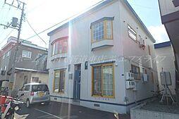北海道札幌市東区北四十一条東15の賃貸アパートの外観