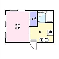 YTハイム[1階]の間取り