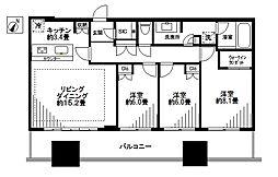 ステーションプラザ[18階]の間取り