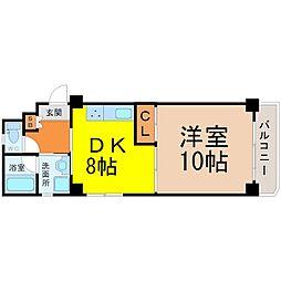 KATOHマンション[301号室]の間取り