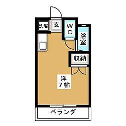CABIN136[2階]の間取り