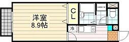 アムールタキノロッジ[1階号室]の間取り