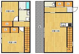 AP−BOX TAKANO[2階]の間取り