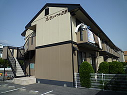 岡山県倉敷市日吉町の賃貸アパートの外観