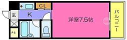 エクセルシオール長田[12階]の間取り