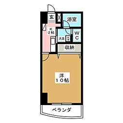 メゾンロイヤルかみとまつり[6階]の間取り