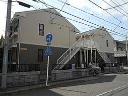 埼玉県川口市上青木西3丁目の賃貸アパートの外観