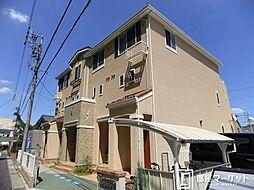 愛知県豊田市梅坪町9丁目の賃貸アパートの外観
