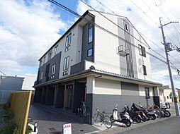 京都府京都市南区上鳥羽金仏の賃貸アパートの外観