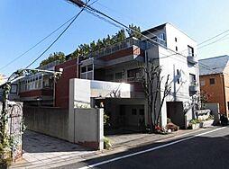 東京都目黒区緑が丘1丁目の賃貸マンションの外観