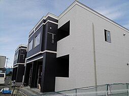 笠間市美原新築アパート[102号室号室]の外観
