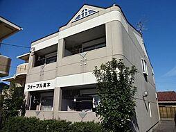 愛知県岩倉市石仏町長北屋敷の賃貸アパートの外観