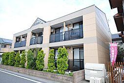 埼玉県越谷市新越谷1丁目の賃貸アパートの外観
