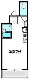 大阪府守口市金下町2丁目の賃貸マンションの間取り