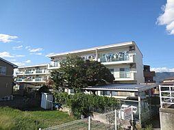 山梨県甲府市住吉2丁目の賃貸マンションの外観