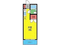 スカイコート町田[1階]の間取り