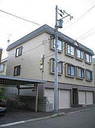 北海道札幌市南区澄川四条2の賃貸アパートの外観