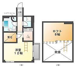 シュタットメゾン千代田[10階]の間取り