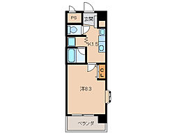 シトラス古屋[2階]の間取り