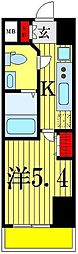 フェルクルールプレスト堀切菖蒲園[3階]の間取り