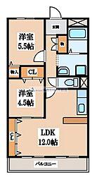 シティコーポ長田[7階]の間取り