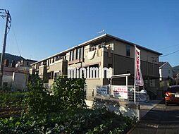静岡県静岡市葵区瀬名6丁目の賃貸アパートの外観