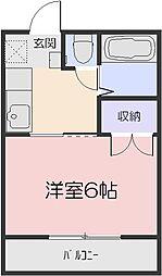 リトルハイム神田[2階]の間取り