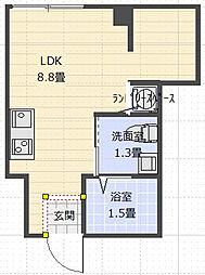 サンコーポEE[2階]の間取り