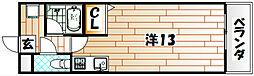 アクセス砂津[8階]の間取り