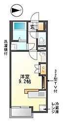 レオネクスト堀田通り5丁目東[2階]の間取り