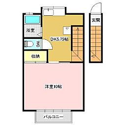 稼ぐ家姫11号[2階]の間取り
